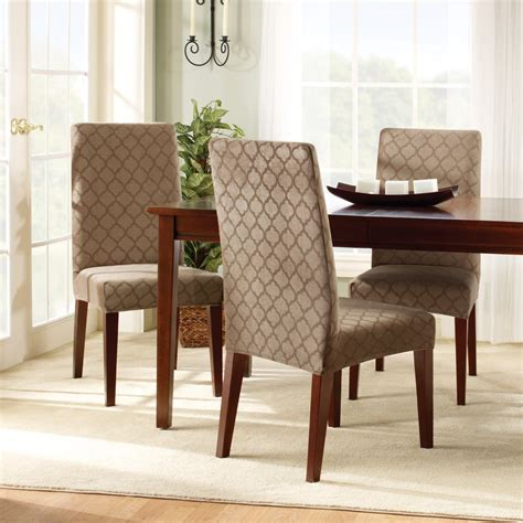 covering dining room chairs stunning dining room chair covers interior decosee com