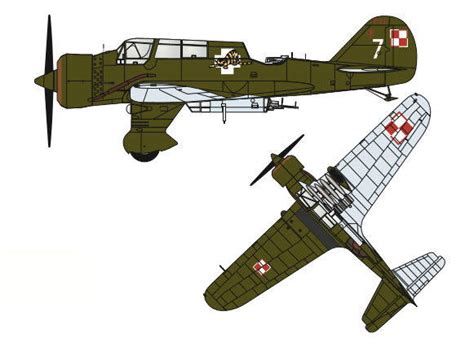 Papercraft Aircraft - new paper craft pzl 23b kara蝗 light bomber free aircraft