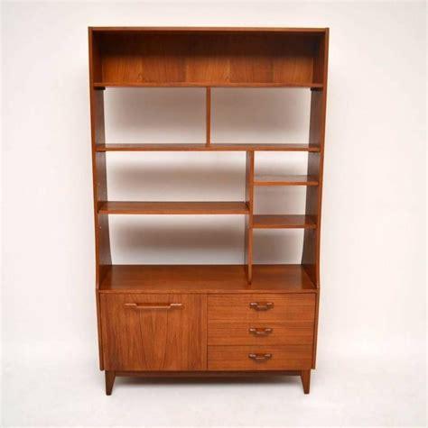 room bookcase teak retro bookcase cabinet or room divider vintage 1960s at 1stdibs