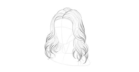 how to draw curly hair 12 steps with pictures wikihow how to draw hair step by step