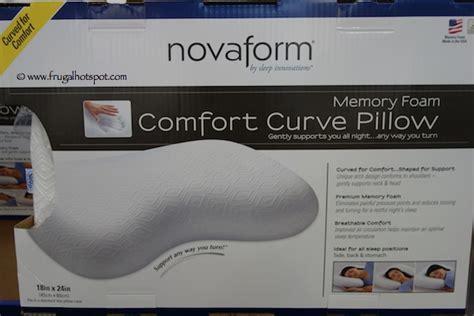 novaform comfort curve pillow costco clearance novaform memory foam comfort curve bed