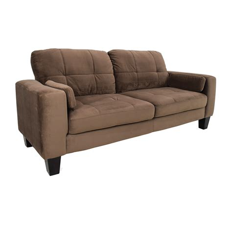 jennifer sofas jennifer convertibles sofa 48 off star furniture brown