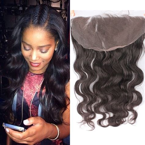 hair music full frontal 13x6 quot lace frontal closure brazilian virgin hair body wave