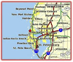 map of dunedin florida pin dunedin florida area map on