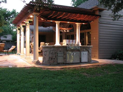 outdoor cooking spaces custom outdoor rooms and kitchens the fire escape in
