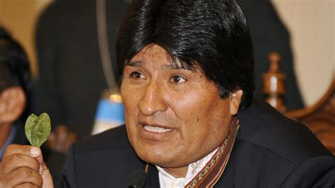 evo morales bolivia s morales on re election to helm of coca growers