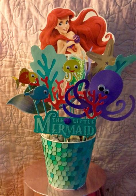 Ariel Decorations by Best 25 Mermaid Centerpieces Ideas On