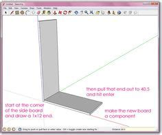 google sketchup woodworking dovetails tutorial woodworking tutorials and shape on pinterest
