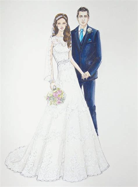 Wedding Sketch by 64 Best Images About Custom Wedding Illustration Sketch