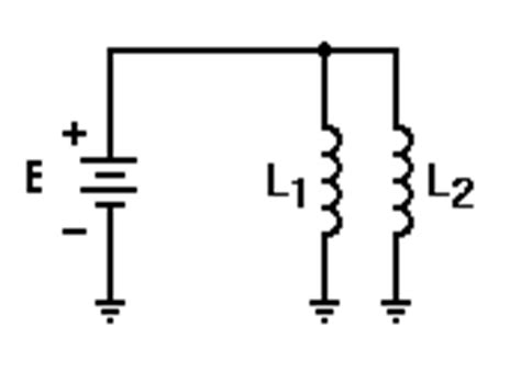 since the two inductors are in parallel the voltage across them is the same inductor electronics everyday
