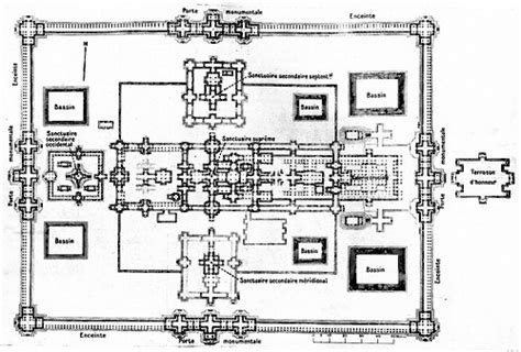 angkor wat floor plan banteay chhmar temple working to save another angkor wat