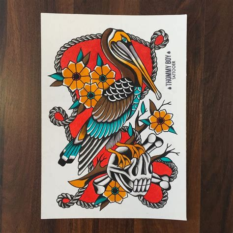 black pelican tattoo best 25 pelican ideas on pelican