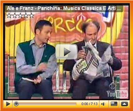 ale e franz la panchina ale e franz panchina la musica classica e le arti marziali