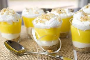 lemon lush dessert shooters