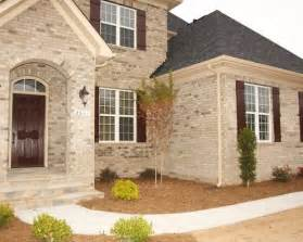 Home Exterior Design Brick by Brick And Shutters Home Design Ideas Pictures Remodel