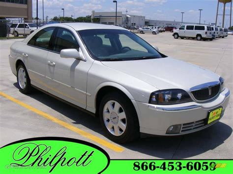 Ceramic Ls 2005 Ceramic White Pearlescent Lincoln Ls V6 Luxury