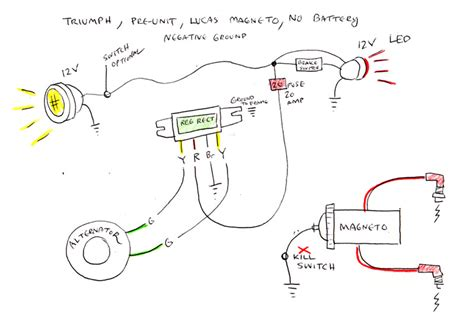 wiring diagram 4 triumph w hunt magneto the jockey