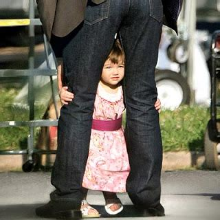 With Suri On The Set Of Mad Money by Suri Cruise Fashion April 2008