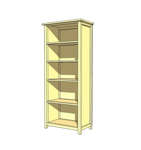 build a bookcase plans woodworking projects plans