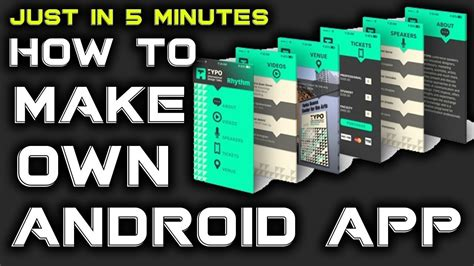 how to build an android app how to make our android app only 5 min easy make and install