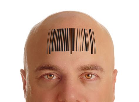 barcode tattoo on head 666