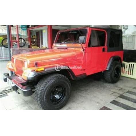 Harga Merk Wrangler jeep cj7 modifikasi wrangler warna merah second harga