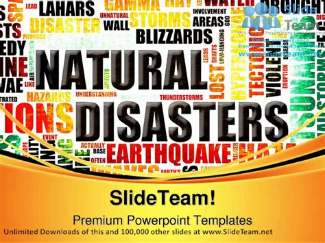 Natural Disasters Geographical Powerpoint Templates Themes And Backgrounds Ppt Themes Youtube Disaster Powerpoint Templates Free