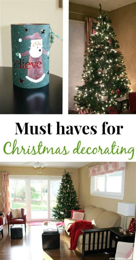 Domestications Home Decor by Green With Decor Must Haves For Christmas Decorating