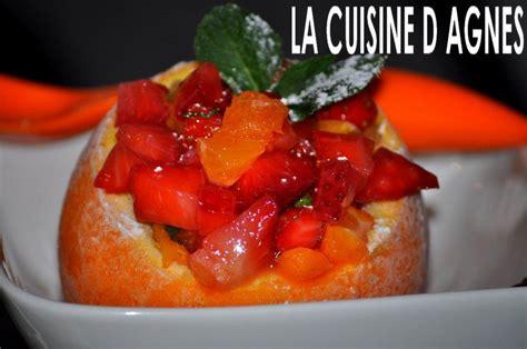la cuisine d agnes granit 233 d orange aux fraises blogs de cuisine