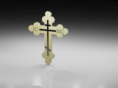 How To Open Dwg File orthodox cross 3d model 3d printable stl dwg cgtrader com