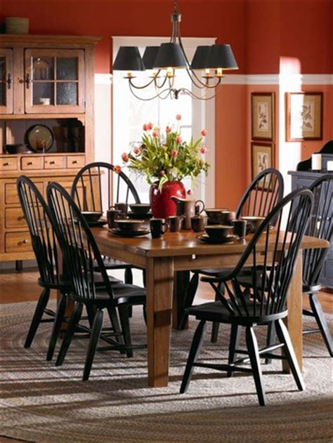 broyhill dining room set attic heirlooms oak rectangular dining room set by