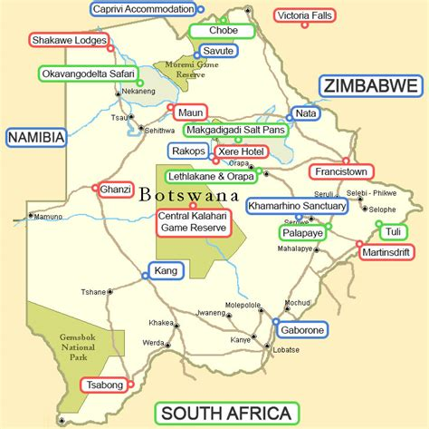 Mba West South Africa by Botswana And Okavango Delta Lodges