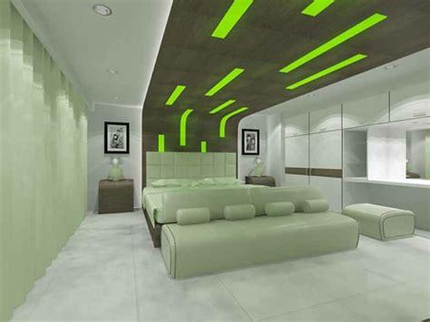 modernes schickes schlafzimmer 55 ideen f 252 r gr 252 ne wandgestaltung im schlafzimmer