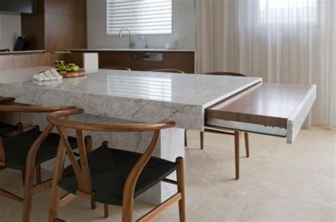 Pull out kitchen tables ? wonderful for small homes