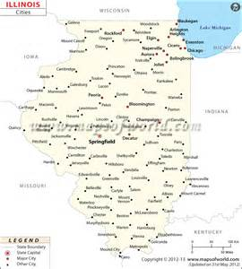 Cities In Illinois Map by 302 Found