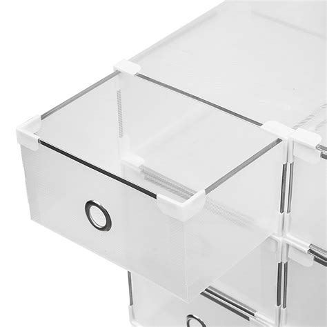 Clear Box No20 36 clear stackable storage drawer clear stackable sweater drawer the container store