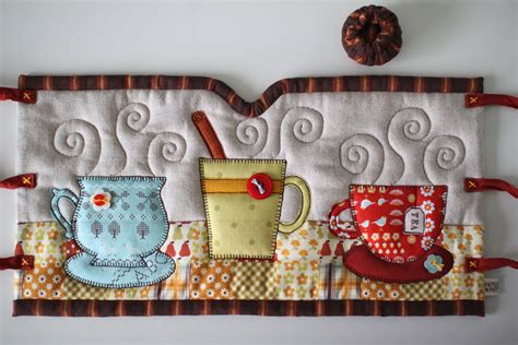 Patchwork Pottery - patchworkpottery apron tea