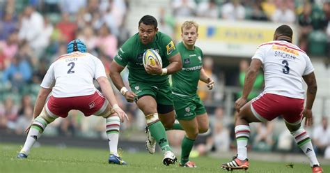 london irish rugby world cup players  action