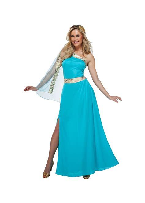 Gamis Fashion Aprodita Dress blue goddess costume costumes
