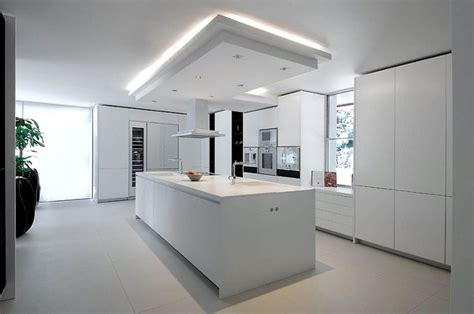 kitchen island steckdose spectacular 7 bedroom modern chalet in madrid