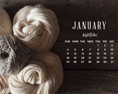 desktop wallpaper for january 2015 january 2015 wallpaper calendar knitpicks staff knitting