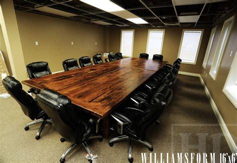 Large Boardroom Tables Custom Reclaimed Wood Boardroom Tables Hd Threshing Floor Furniture