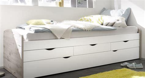 Bett Einzelbett by Bett Einzelbett Ausziehbett Schubladenbett Tandembett 90cm