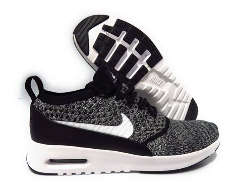 Air Ultra Fly Original 881175 001 nike air max thea ultra fly knit black white sneaker size 6 ebay
