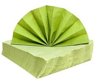 Paper Serviette Folding - paper napkin folding