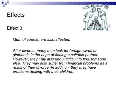 Effect Of Divorce On Children Essay by The Effects Of Divorce On Children Essay
