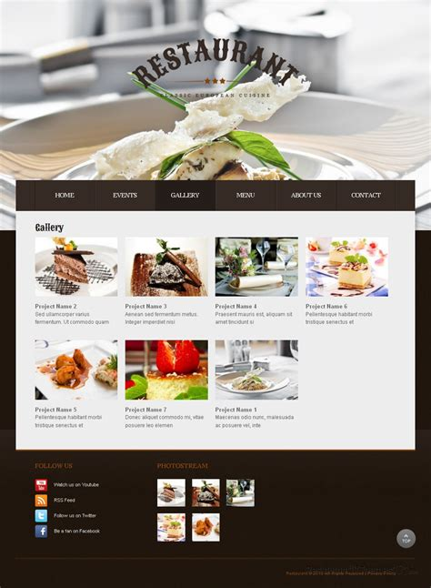 restaurant review a drupal restaurant theme by template