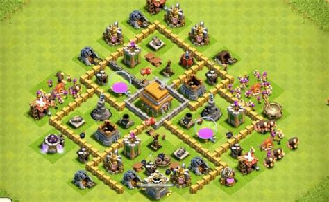 layout coc war base th6 6 epic town hall 6 war base layouts farming base layouts