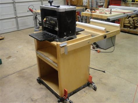 Planer Stand By Sphayden Lumberjocks Com Woodworking