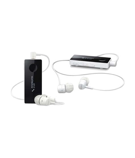Headset Bluetooth Sony Sbh50 sony sbh50 stereo bluetooth headset white black buy